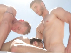 Poolside Massage XXX Video