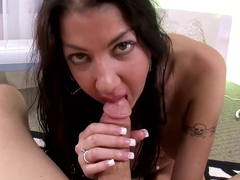 Fabulous pornstars Nadia Night, Angelica Taylor in Hottest POV, Facial sex scene