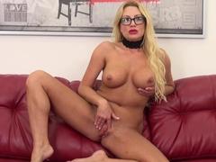 Horny pornstar Jennifer Best in Crazy Masturbation, Solo Girl xxx scene