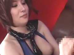 Hottest Japanese slut Yuria Satomi in Horny Rimming, Stockings JAV scene