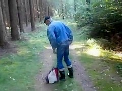 nlboots - rolling a ****in the woods