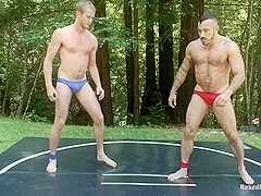 NakedKombat Alessio Romero vs Drake Temple at Naughty Pines Campgrounds