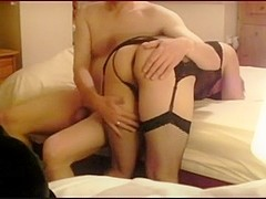 Wives home movie with rough arse treatment