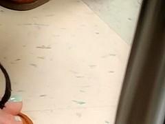 girl girl feet in class (Lydia)pt7