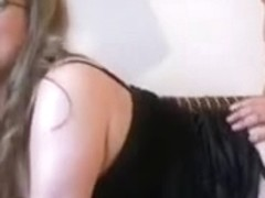 Breasty non-professional Mother I'd Like To Fuck sucks and bonks with cum on bumpers