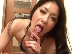 Best Japanese girl Kyoka Ishiguro in Crazy JAV uncensored Blowjob video