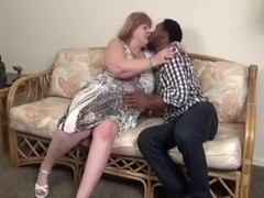BBW MILF IR fucked by BBC and creampied