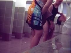 Hidden cameras in public pool showers 862