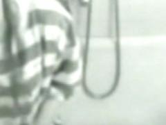 Hidden cam in bathroom - girlfriend fingering