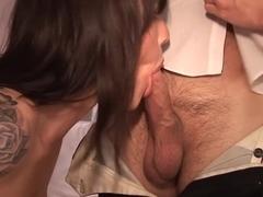 Incredible pornstars Daisy Rock and June Summers in fabulous mature, threesome porn scene