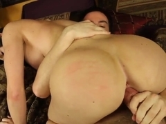 Dane Cross and Kendall Karson in the hardcore action
