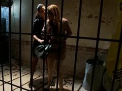 Exotic bdsm, lesbian porn scene with fabulous pornstars Bobbi Starr and Yasmine de Leon from Wired.