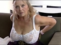 image Super sexy old spunker fucks her soaking wet pussy for you