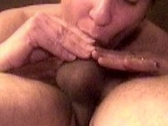 Cum in her mouth during a 69