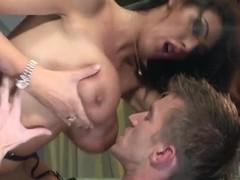 Brunette Ava Koxxx drilled wild by Danny D