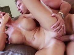 Big boobed blondie Evita Pozzi is fucking on tape