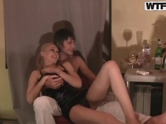 Amazing amateur fucking with crazy couple