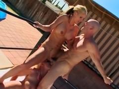 Johnny Sins, Phoenix Marie, Sadie Swede threesome