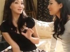 Oriental Hotties In Lesbian Act,By Blondelover