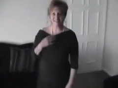 Nympho milf fucks one of her boy's friends