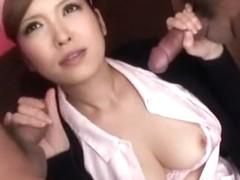 Riana Natsukawa Uncensored Hardcore Video with Creampie, Dildos/Toys scenes