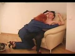 Fat mature Russian Irina gets crammed hard