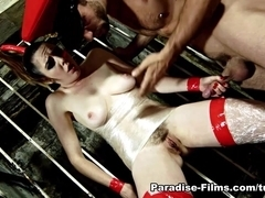 Samantha Bentley & Alexei Jackson in Dungeon Degradation - Paradise-Films