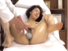 Erotic massage video in which I'm plugging an asian bitch