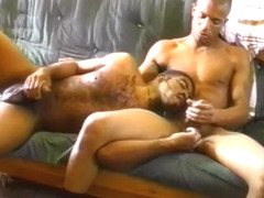 Sexy Gay Black Thugs Toss Each Others' Horny Salads