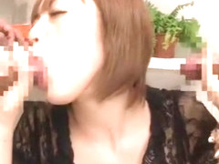 Crazy Japanese chick Yu Namiki in Exotic Stockings, Handjobs JAV movie