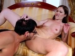Best pornstar in Amazing HD, Brunette adult video