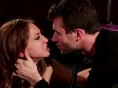 Hottest pornstars Sara Luvv, James Deen in Fabulous Cumshots, Big Ass adult clip