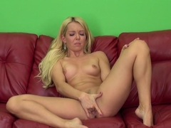 Incredible pornstar Aaliyah Love in Crazy Blonde, Masturbation sex clip