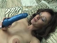 Amazing pornstar in fabulous mature, solo sex clip