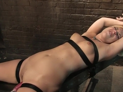 Amazing fetish sex scene with horny pornstars Charley Chase and Hollie Stevens from Fuckingmachines