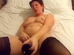 My homemade chubby porn clip shows me jilling off