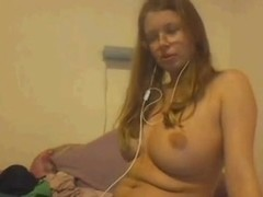 Sexy austrian strips on Webcam