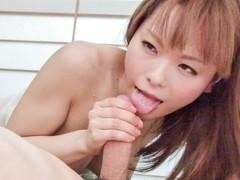 Hottest Japanese girl Anri Sonozaki in Fabulous JAV uncensored Foot Job scene