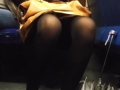 Compilation of legs and upskirts