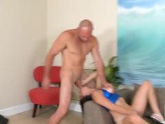 Jmac treats busty and super sexy Latina Nina Lopez with his huge dick