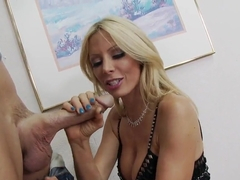 Holly Sampson harnesses the power of Johnny Sins' poker