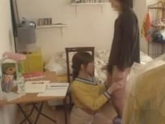 Amazing Japanese slut in Best Stockings, Blowjob JAV movie