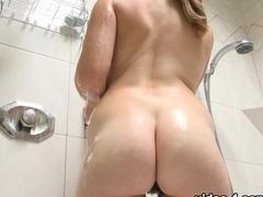 Best pornstar Lara Brookes in Hottest Redhead, Hairy sex scene