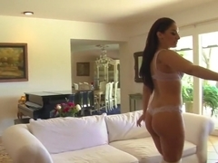 Amazing pornstars Sheena Ryder and Sinn Sage in best blowjob, small tits xxx movie