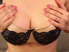 Horny pornstar Sunny Leone in Exotic Lingerie, Solo Girl adult video