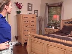 Exotic pornstars Jodi West and Callie Calypso in fabulous blowjob, lesbian porn movie
