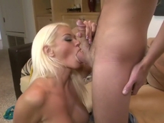 Horny pornstar Nikita Von James in exotic blowjob, cunnilingus sex scene