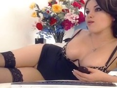 Katusha playing with her slut
